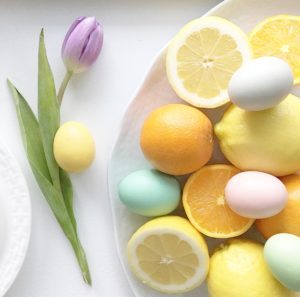 How To: Create an Elegant Easter Centerpiece Using Produce