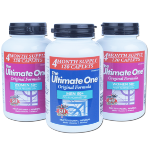 multi vitamin, the ultimate one, women 50 +, men 50 +, natural, special, sale