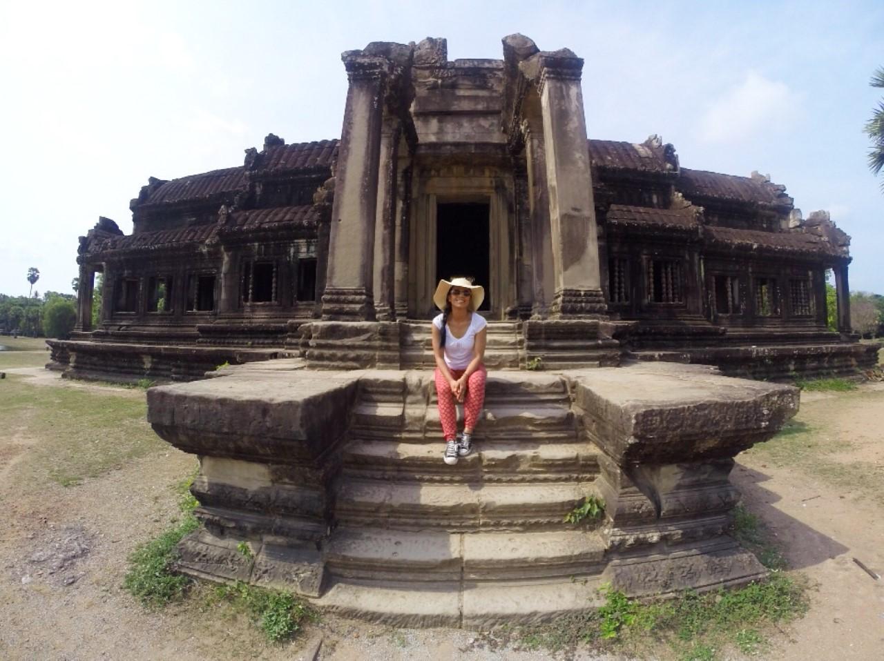 Lesley, Cambodia - April 18