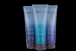 mineral fusion, shampoo, conditioner, natural